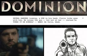 Dominion - Script to Storyboard to Screen Comparison